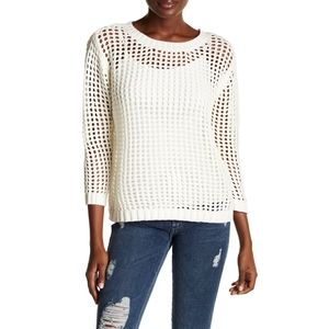 Revolve 1. State Long Sleeve Pointelle Sweater